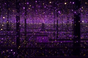 Enter a realm of endless possibilities with Yayoi Kusama's Infinity Mirror Rooms