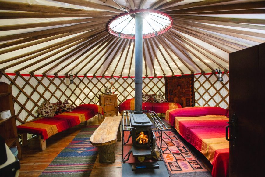 Larkhill Tipis and Yurts 1
