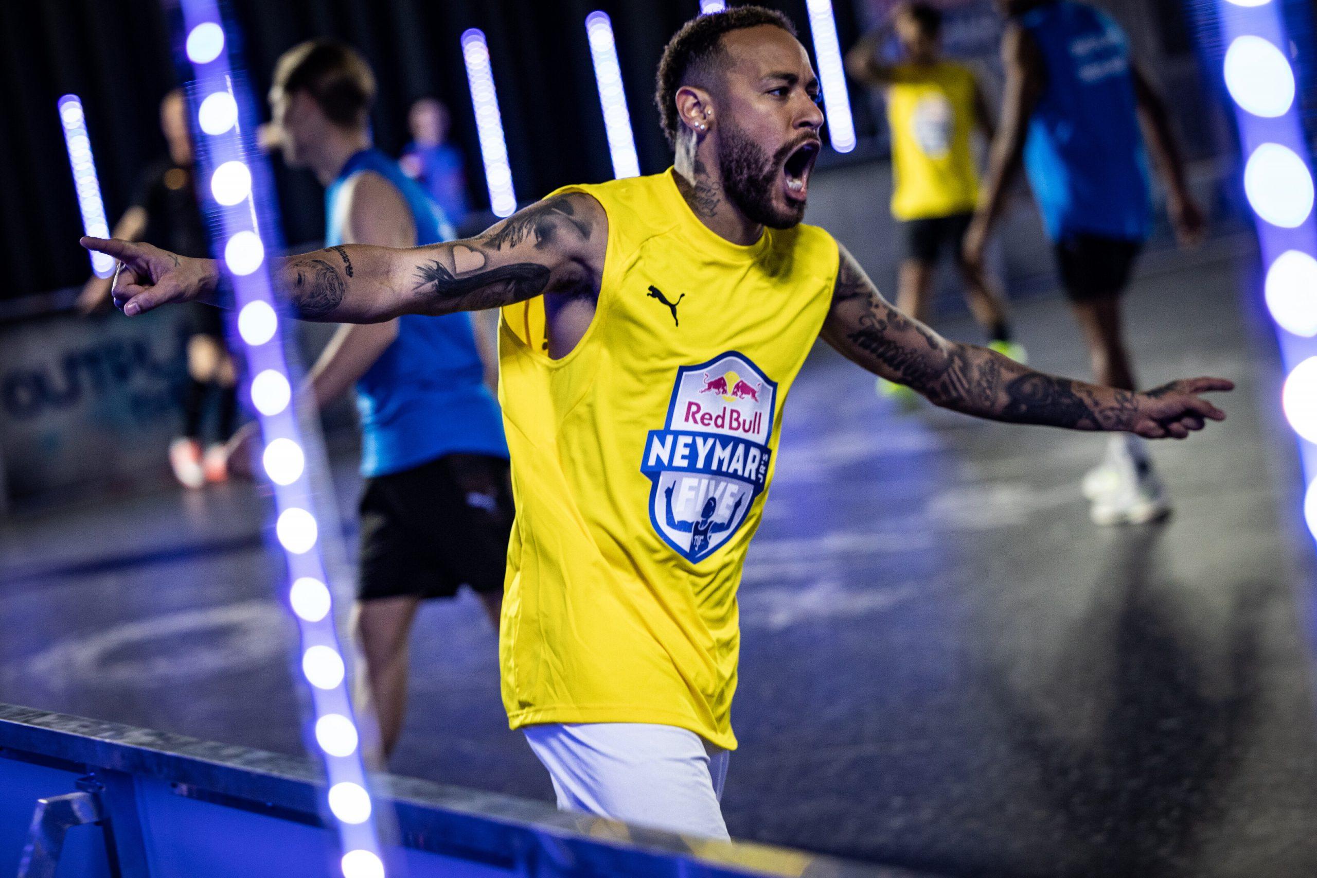 Neymar Jr seen during Neymar Jr's Five Event in Salzburg, Austria on January 23, 2021 // SI202105170021