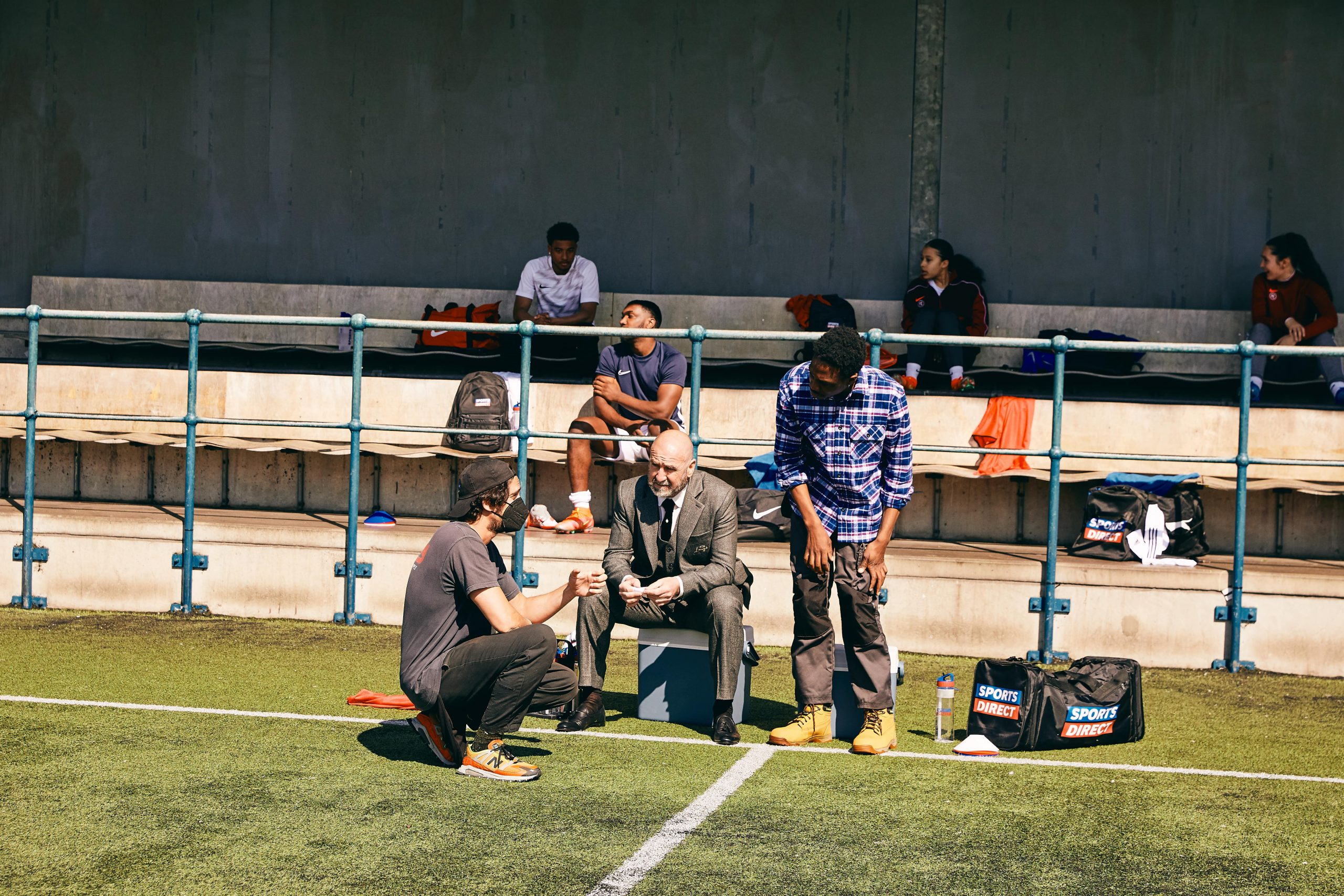 Sports Direct_TVC_Just A Game_BTS_Eric Cantona-min