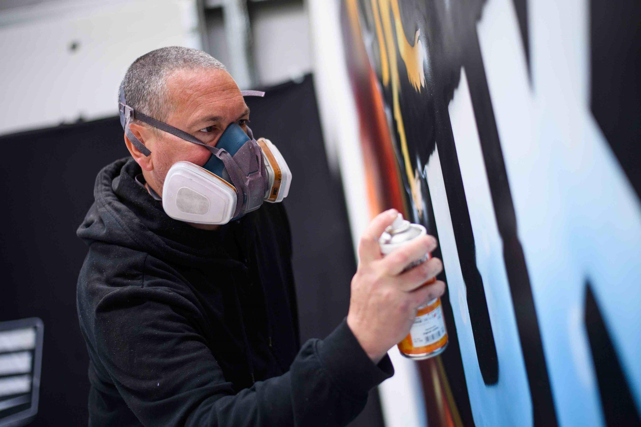 WWE NXT UK Graffiti - 1
