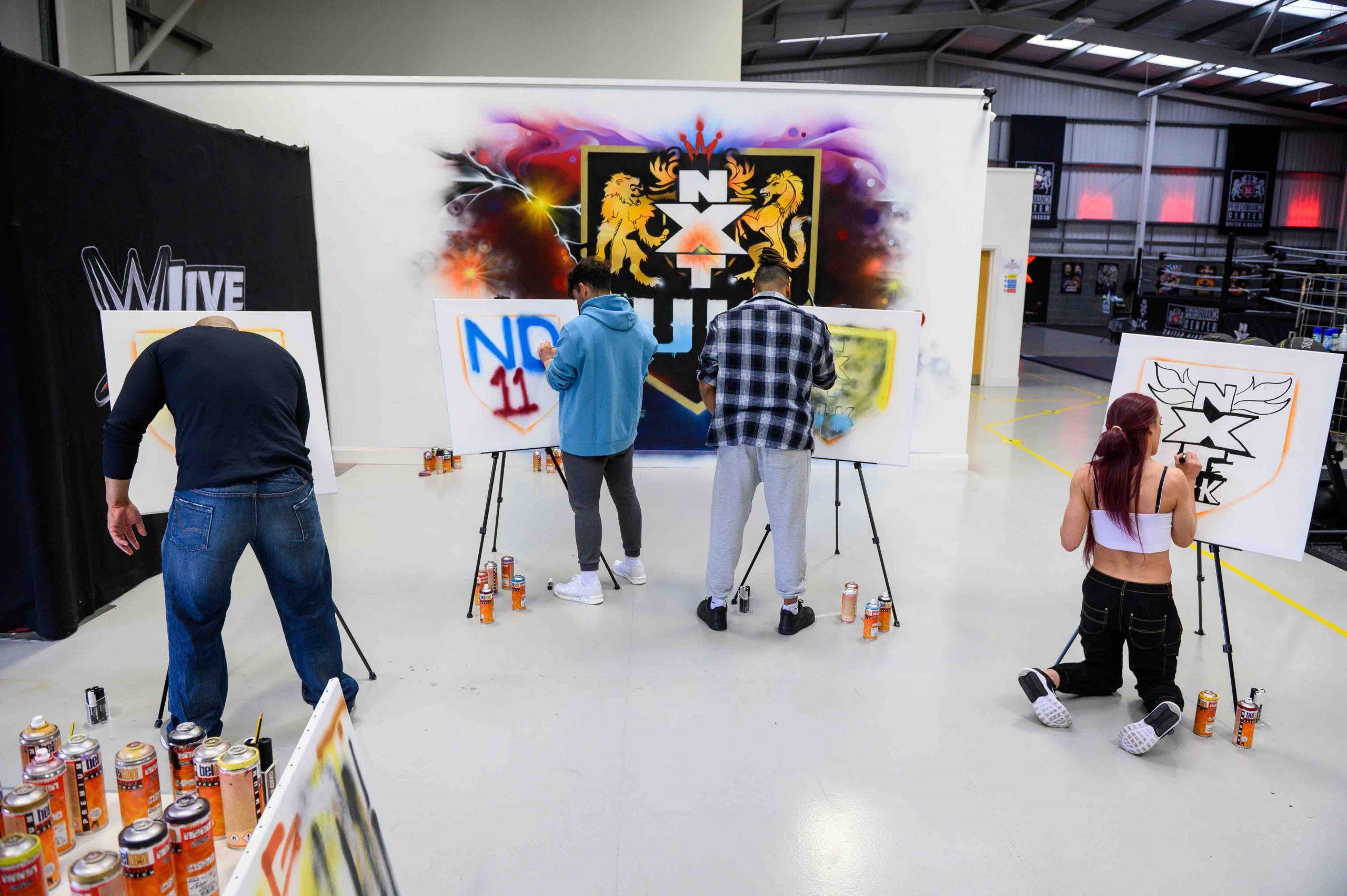 WWE NXT UK Graffiti - 11