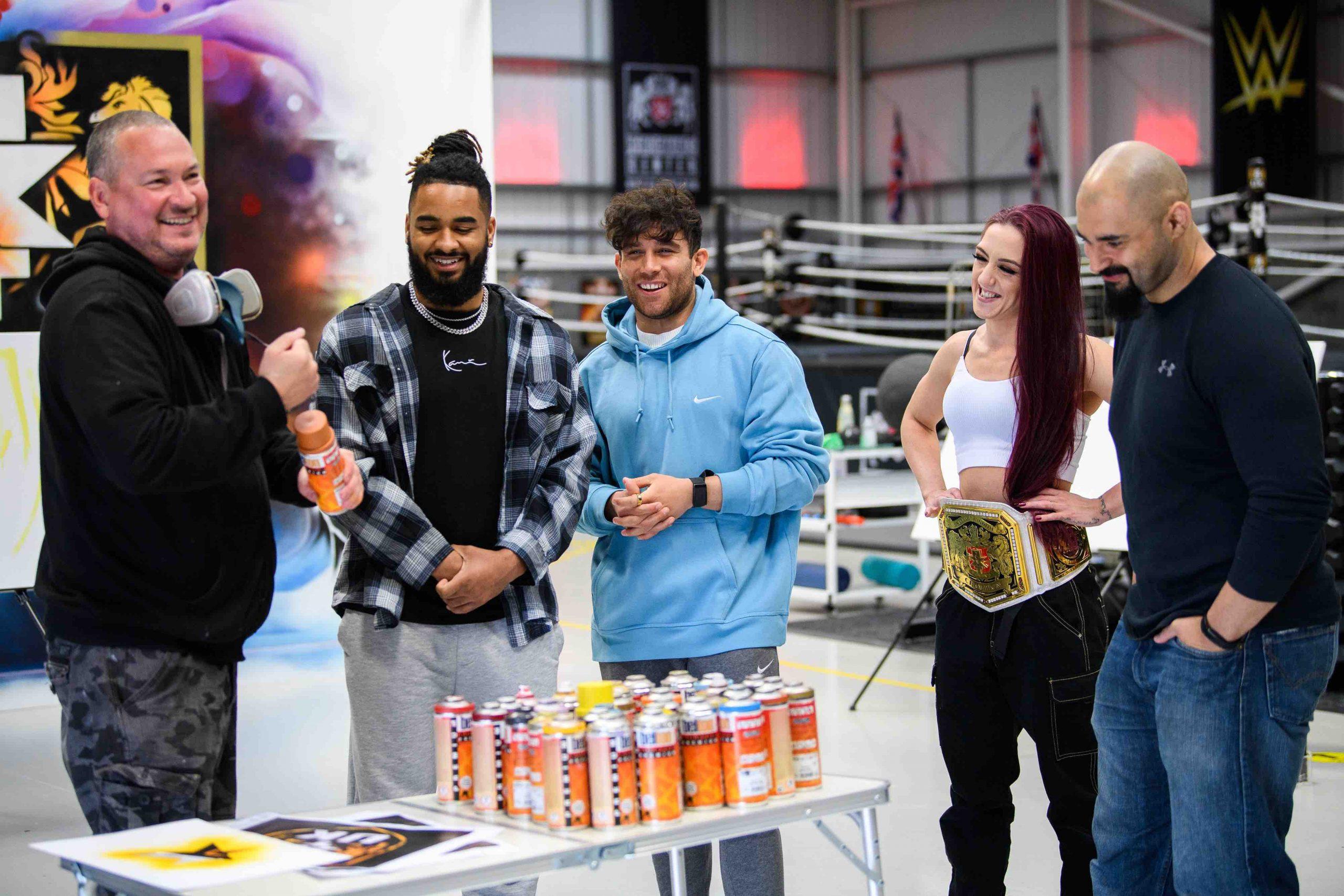 WWE NXT UK Graffiti - 4