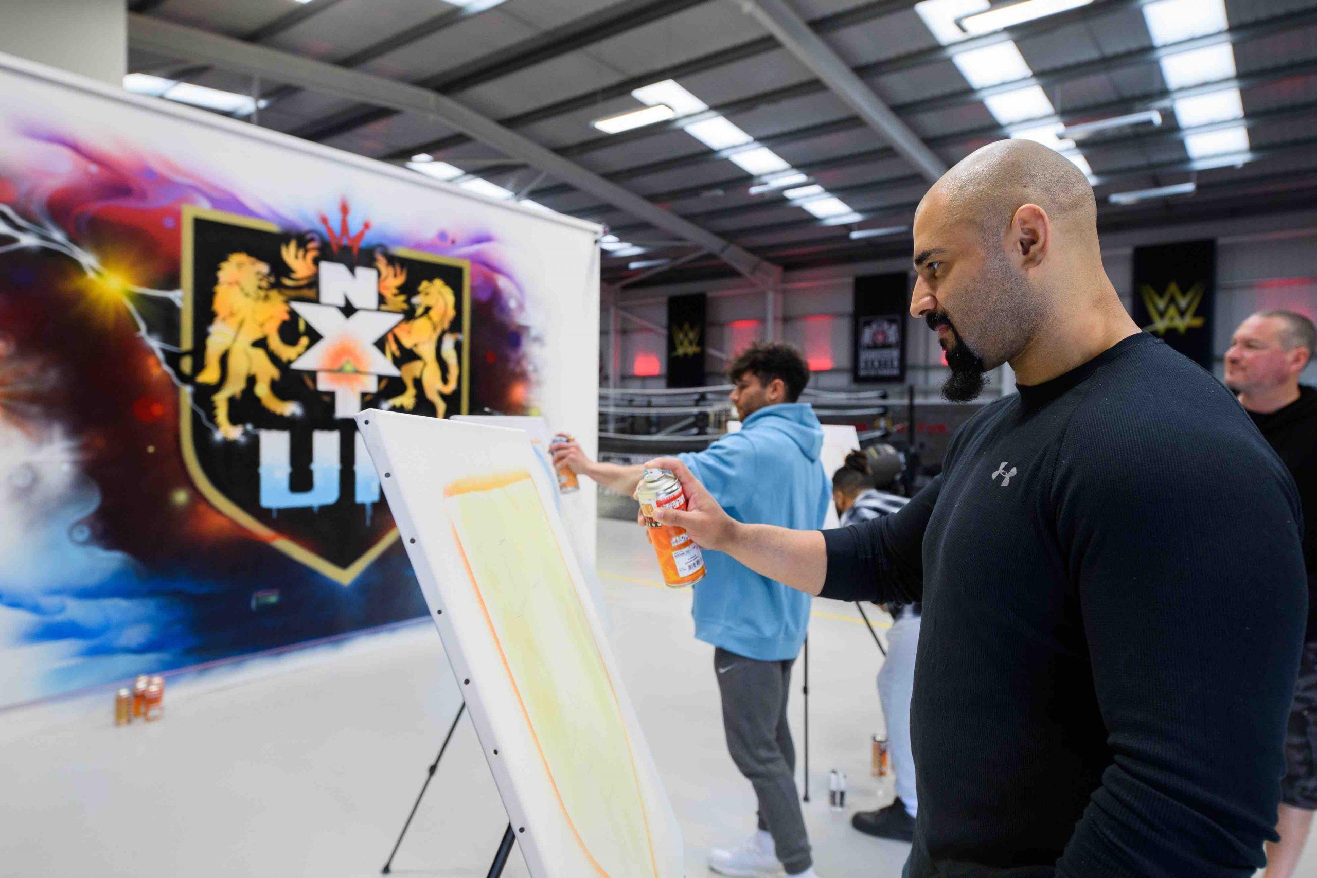 WWE NXT UK Graffiti - 5