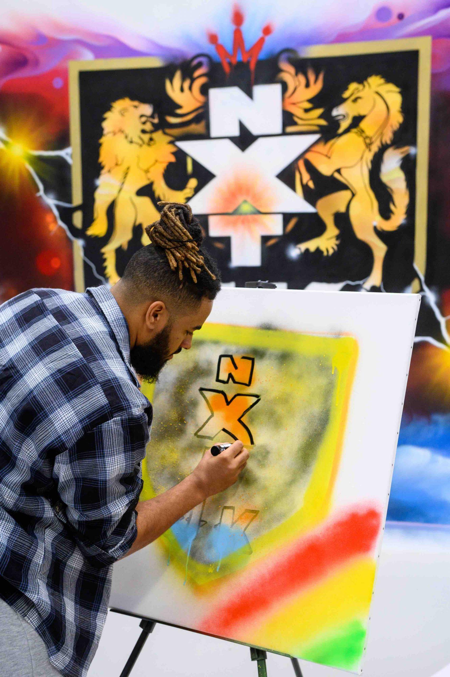WWE NXT UK Graffiti - 8