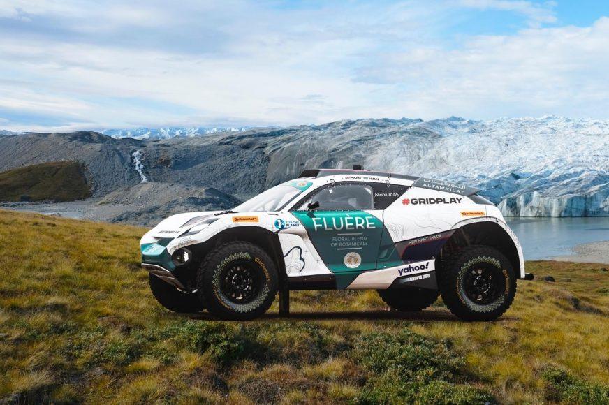 Andretti United Extreme E - Arctic X Prix Livery