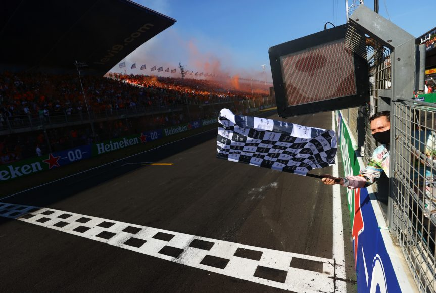ZANDVOORT, NETHERLANDS - SEPTEMBER 05: <> during the F1 Grand Prix of The Netherlands at Circuit Zandvoort on September 05, 2021 in Zandvoort, Netherlands. (Photo by Dan Istitene - Formula 1/Formula 1 via Getty Images)