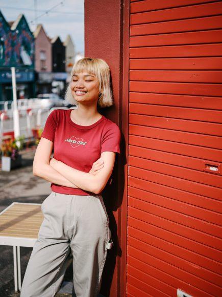 SCA_FA21_LIFESTYLE Tee & Pants - Heart Strip T-shirt - Nolan Carpenter Pants_3