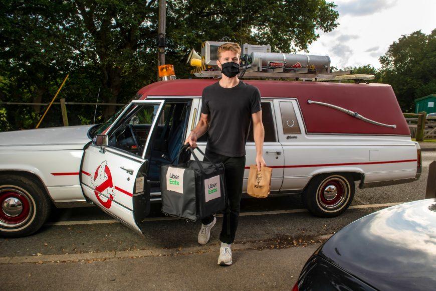 72 POINT LTD                         Uber x KFC Movie Car Deliveries, Ascot, September 18 2021